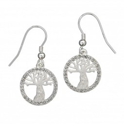 PRE ORDER HARRY POTTER SWAROVSKI WHOMPING WILLOW EARRINGS