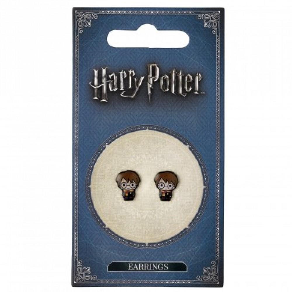 Harry Potter Chibi Style Harry Earrings