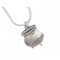 Harry Potter Silver Plated Cauldron Necklace