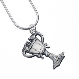 Harry Potter Silver Plated Triwizard Cup Necklace
