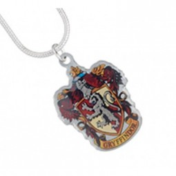 Harry Potter Silver Plated Gryffindor Necklace