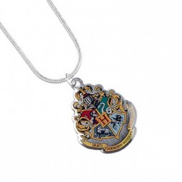 Harry Potter Silver Plated Hogwarts Necklace