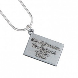 Harry Potter Silver Plated Hogwarts Acceptance Letter Necklace