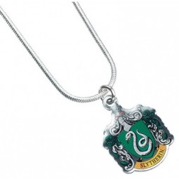 Harry Potter Silver Plated Slytherin Necklace