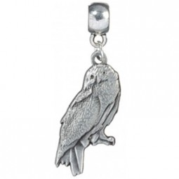 Harry Potter Silver Plated Hedwig Slider Charm