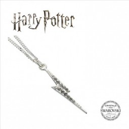 PRE ORDER HARRY POTTER SWAROVSKI LIGHTNING BOLT NECKLACE