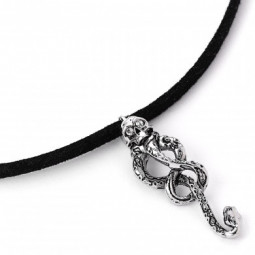 Harry Potter Dark Mark Tattoo Choker Necklace