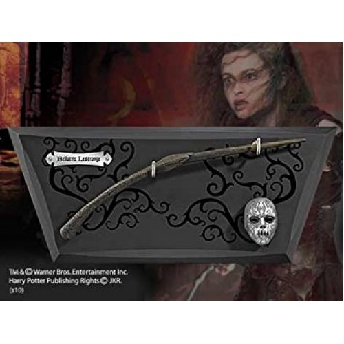 Harry Potter Bellatrix Wand with Wall Display