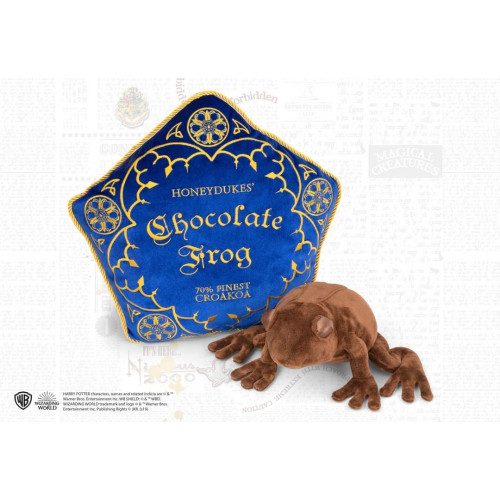 Harry Potter Chocolate Frog Plush and Pillow