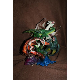 Harry Potter Dragons of the First Task Sculpture
