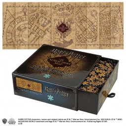 Harry Potter Marauders Map 1,000pc Jigsaw Puzzle