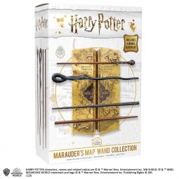 Harry Potter Marauders Map Wand Collection