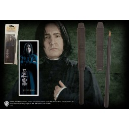 Harry Potter Wand Pen with Bookmark Snape