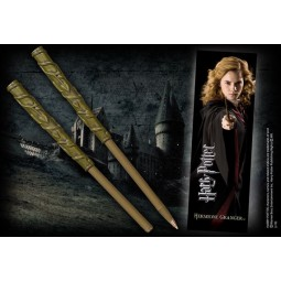 Harry Potter Wand Pen with Bookmark Hermione