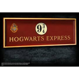 Harry Potter Hogwarts Express Platform 9 3/4 Sign