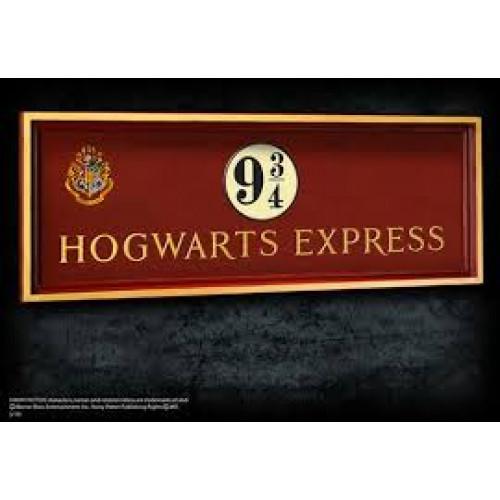Harry Potter Hogwarts Express Platform 9 3/4 Sign