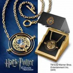 Harry Potter Time Turner Sterling Silver Gold Plated