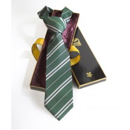 Harry Potter Slytherin House Tie