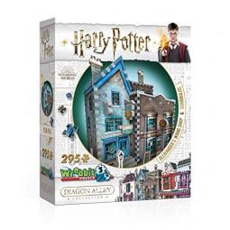 Harry Potter 3D Puzzle Olivander's Wand Shop & Scribbulus