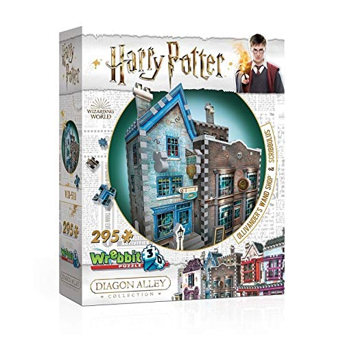 Harry Potter 3D Puzzle Olivander's Wand Shop & Scribbulus