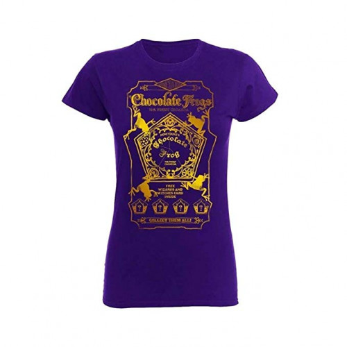Harry Potter Ladies Fit Chocolate Frog T Shirt