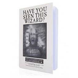 Harry Potter Lenticular Notebook Sirius Black
