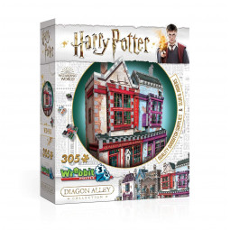 Harry Potter 3D Puzzle Quidditch Supplies & Slugs & Jiggers
