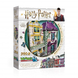 Harry Potter 3D Puzzle Madam Malkin's & Florean Fortescue's Ice Cream