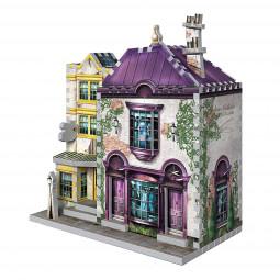 Harry Potter 3D Puzzle Madam Malkin's & Florean Fortescue's Ice Cream