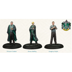 Harry Potter Miniatures Adventure Game Slytherin Students