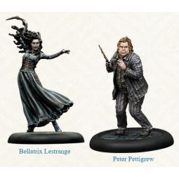 PRE ORDER Harry Potter Miniatures Adventure Game Bellatrix & Wormtail