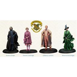 PRE ORDER Harry Potter Miniatures Adventure Game Hogwarts Professors