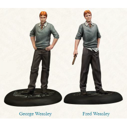 PRE ORDER Harry Potter Miniatures Game Fred & George Weasley