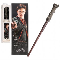 Harry Potter Noble Collection Toy Wand with Lenticular Bookmark