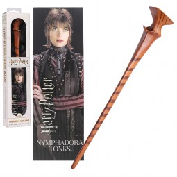 Harry Potter Noble Collection Nymphadora Tonks Toy Wand and Lenticular Bookmark