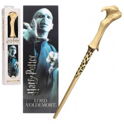 Harry Potter Noble Collection Voldemort Toy Wand with Lenticular Bookmark