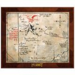 Hobbit Thorin's Map