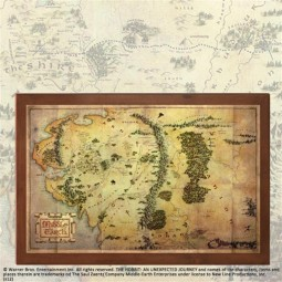 Hobbit Map of Middle Earth