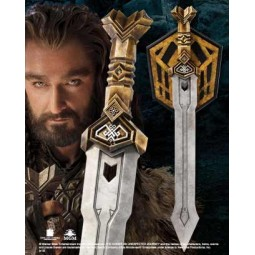 "Hobbit Thorin Dwarven Sword 28"" Prop Replica"