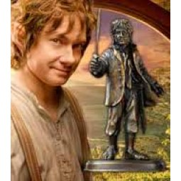 Hobbit Bilbo Baggins Bronze Sculpture