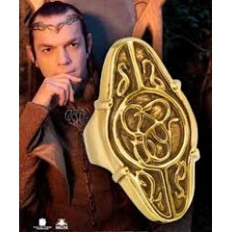 Hobbit Elrond Gold Ring