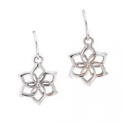 Hobbit Galadriel Flower Earrings