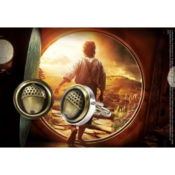 Hobbit Bilbo Button Cufflinks