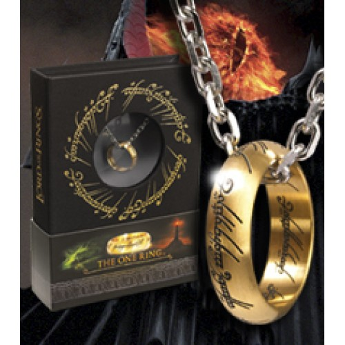Lord of the Rings One Ring Stainless Steel on Chain
