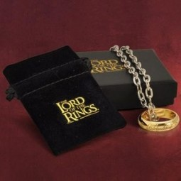 Lord of the Rings Costume One Ring on Chain
