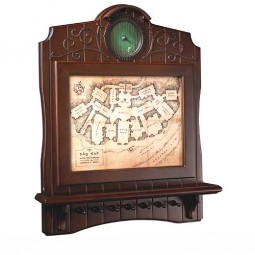 Hobbit Bag End Map Plaque Key Holder