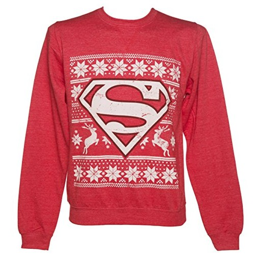 DC Superman Christmas Jumper