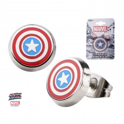 Marvel Captain America Earrings