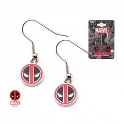 Marvel Deadpool Dangle Earrings
