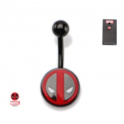 Marvel Deadpool Logo Navel Bar